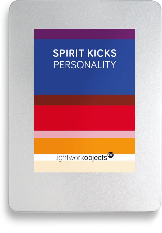 SPIRIT KICKS | PERSONALITY - Lightlanguage for Business
