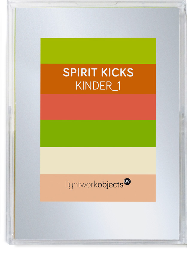 SPIRIT KICKS | KINDER Set 1 - ©lightworkobjects.com