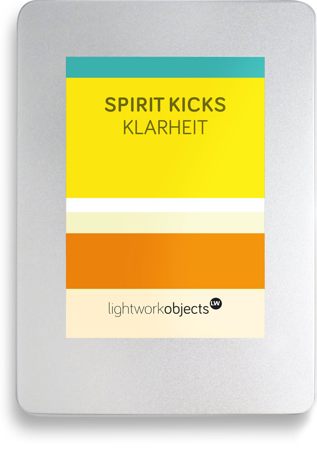SPIRIT KICKS Toolbox Klarheit by Lightwork Hamburg
