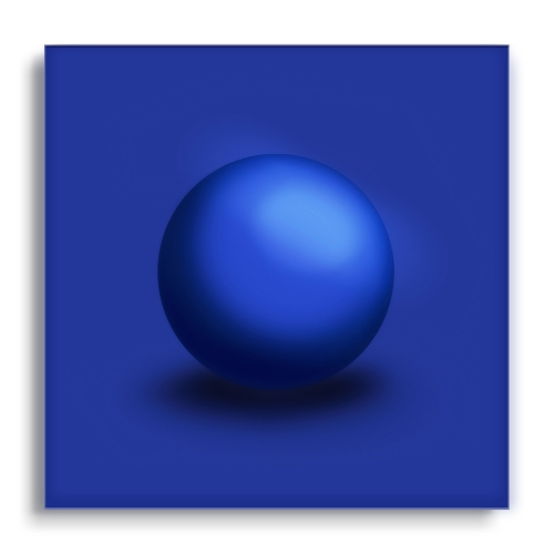 GALLERY Wandobjekt | Blue Sphere