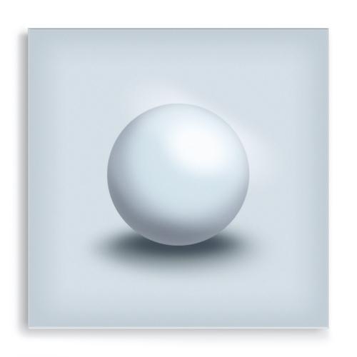 GALLERY Wandobjekt | Silver Sphere