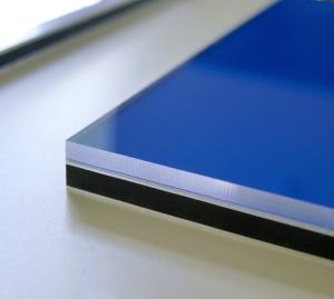 GALLERY | Wandobjekt Material Detail blue