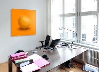 GALLERY Wandobjekt | Orange Sphere