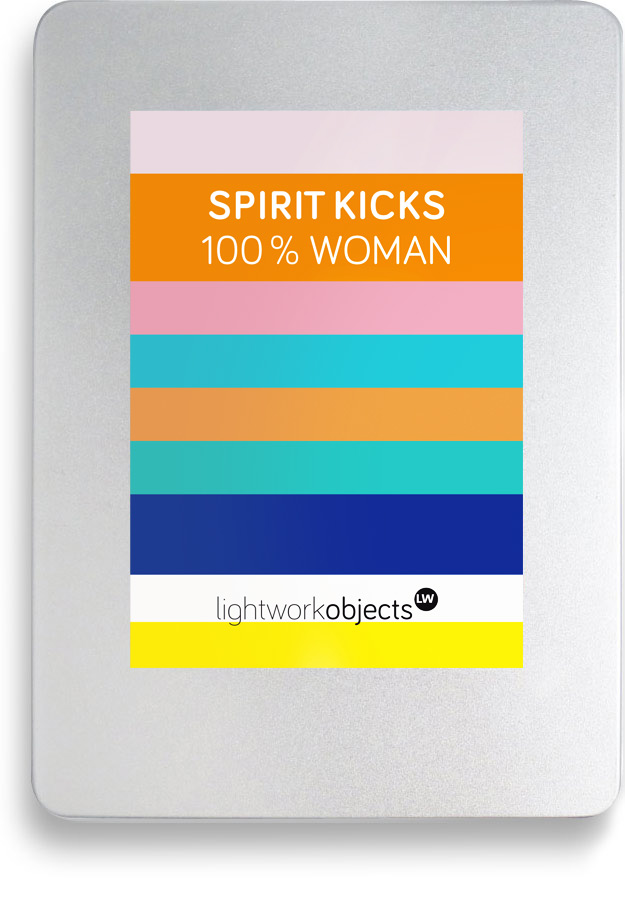 SPIRIT KICKS Toolbox 100 % Woman by Lightwork Hamburg