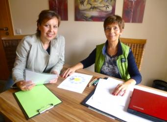 Christiane Wittig im Gespräch mit Petra Burkert
