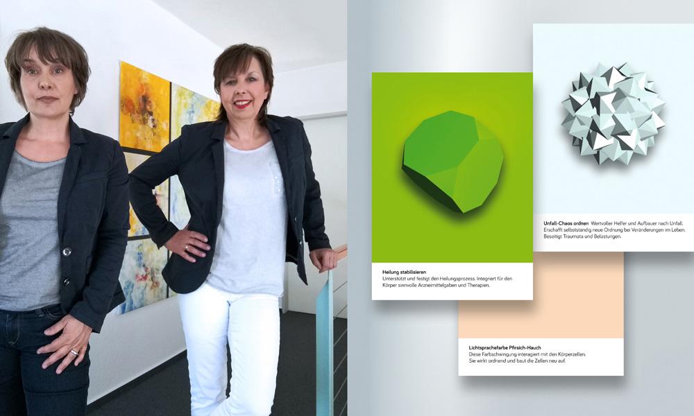 Christiane Wittig und Susanne Wittig von Lightwork Hamburg
